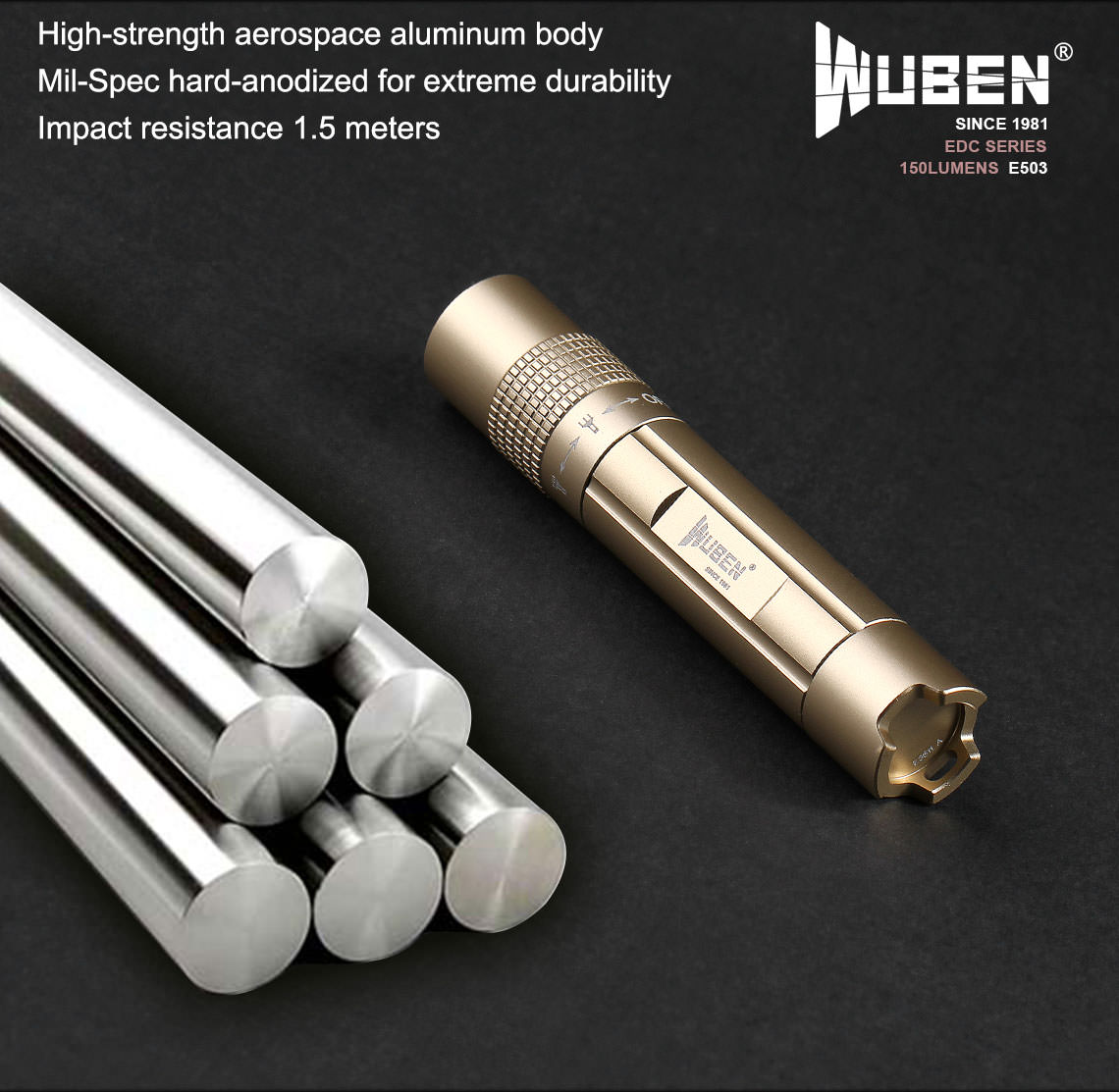 wuben e503 flashlight sale