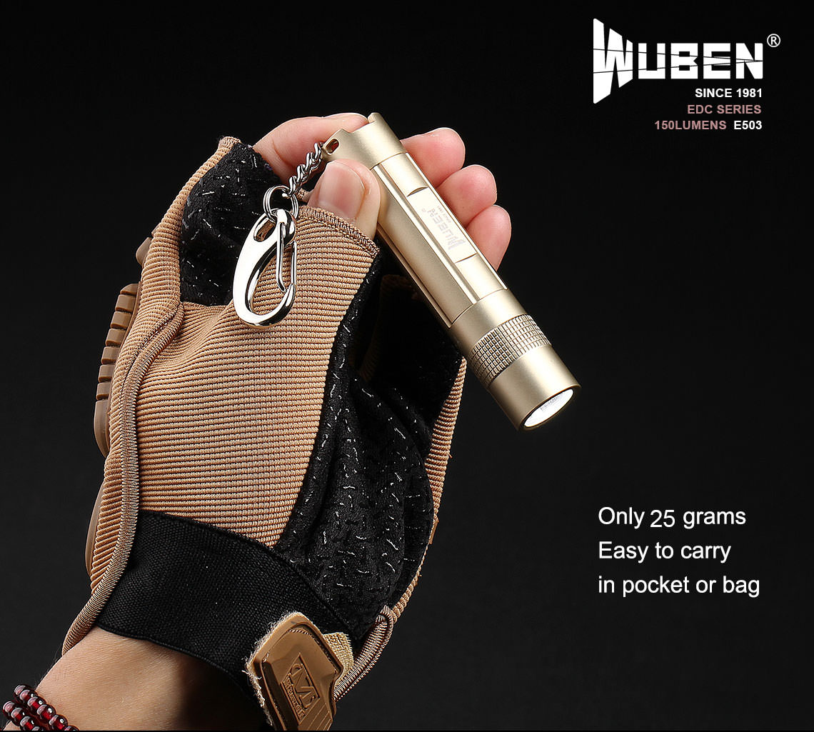 wuben e503 led flashlight online