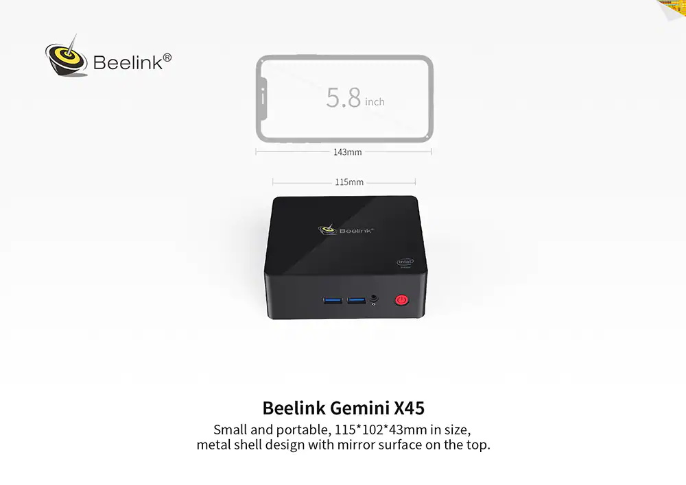 buy gemini x45 basic mini pc