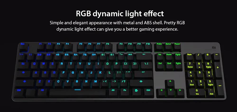 xiaomi mechanical gaming keyboard