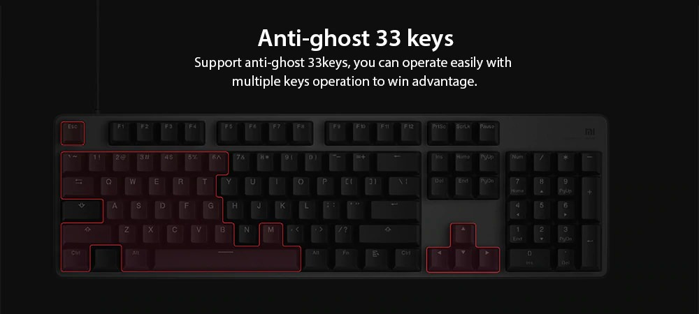 xiaomi game keyboard rgb