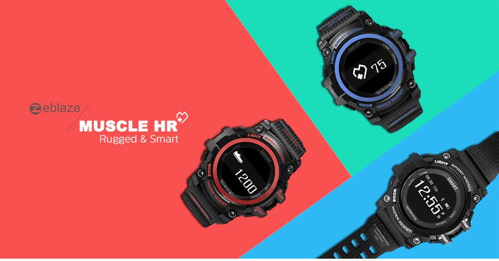 zeblaze muscle hr smartwatch