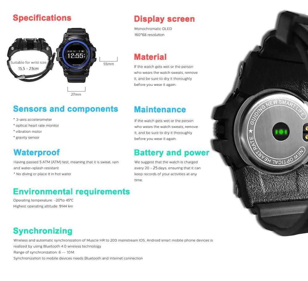 zeblaze muscle hr smartwatch online