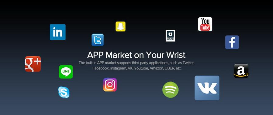 buy zeblaze waterproof smartwatch