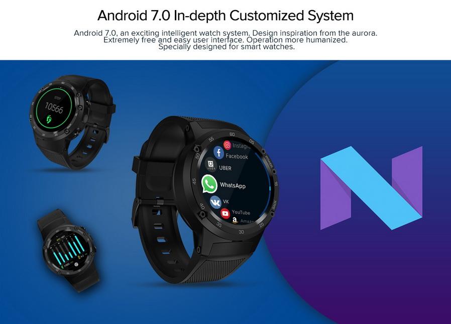 2018 zeblaze thor 4 smartwatch