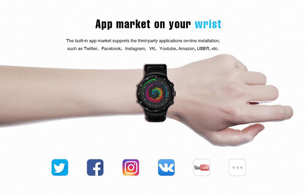 new zeblaze smartwatch phone