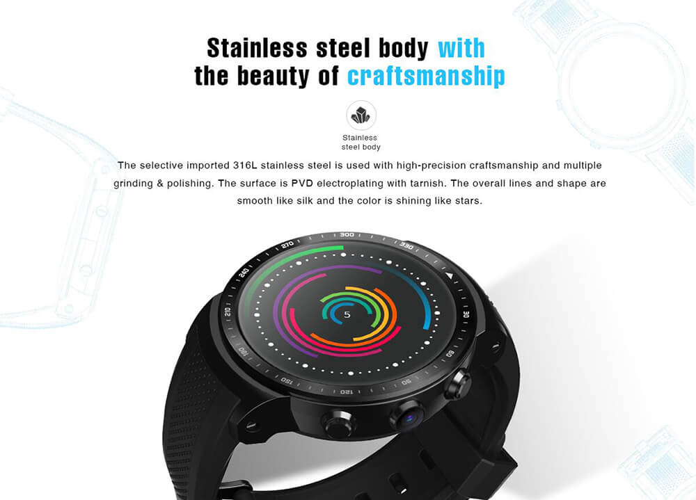 new zeblaze 3g smartwatch