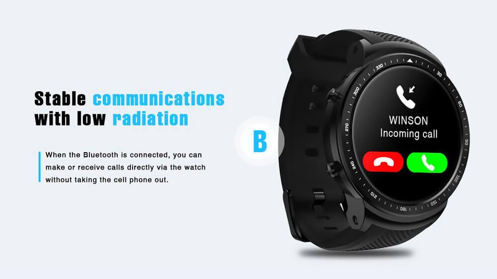2018 zeblaze thor pro smartwatch