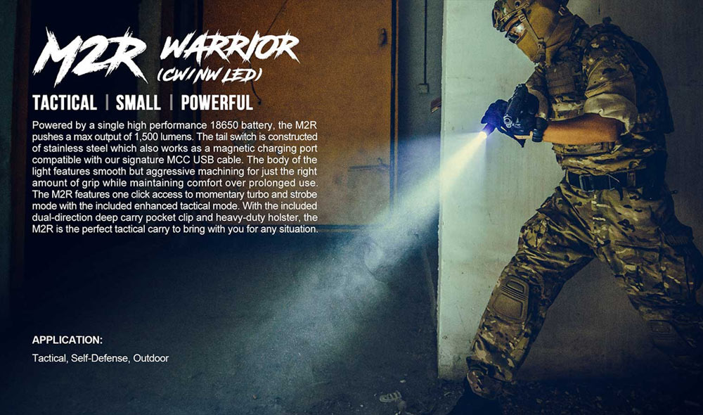 olight m2r warrior flashlight