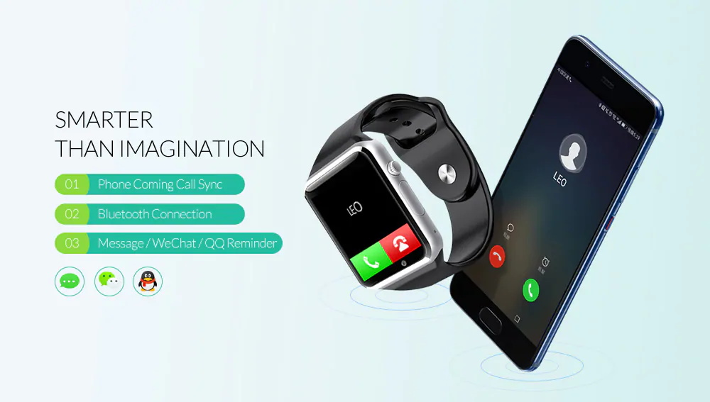 cheap a1 bluetooth smartwatch