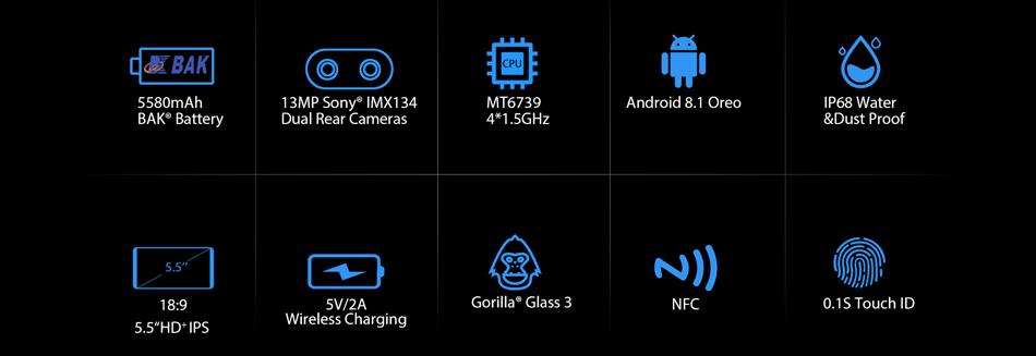 buy blackview bv5800 pro smartphone