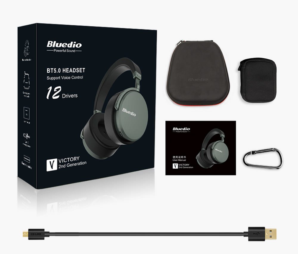 bluedio v2 bluetooth headset