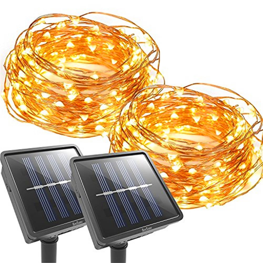 solar panel outdoor string light
