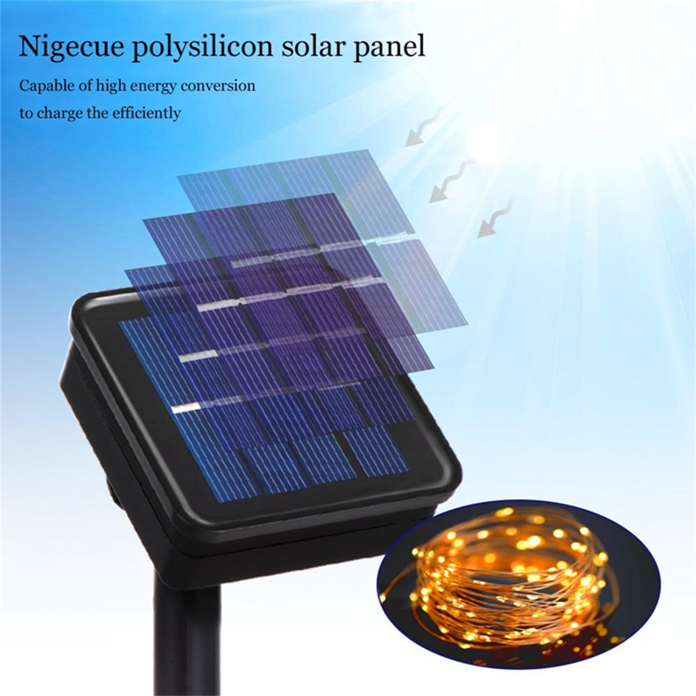 buy solar panel string light