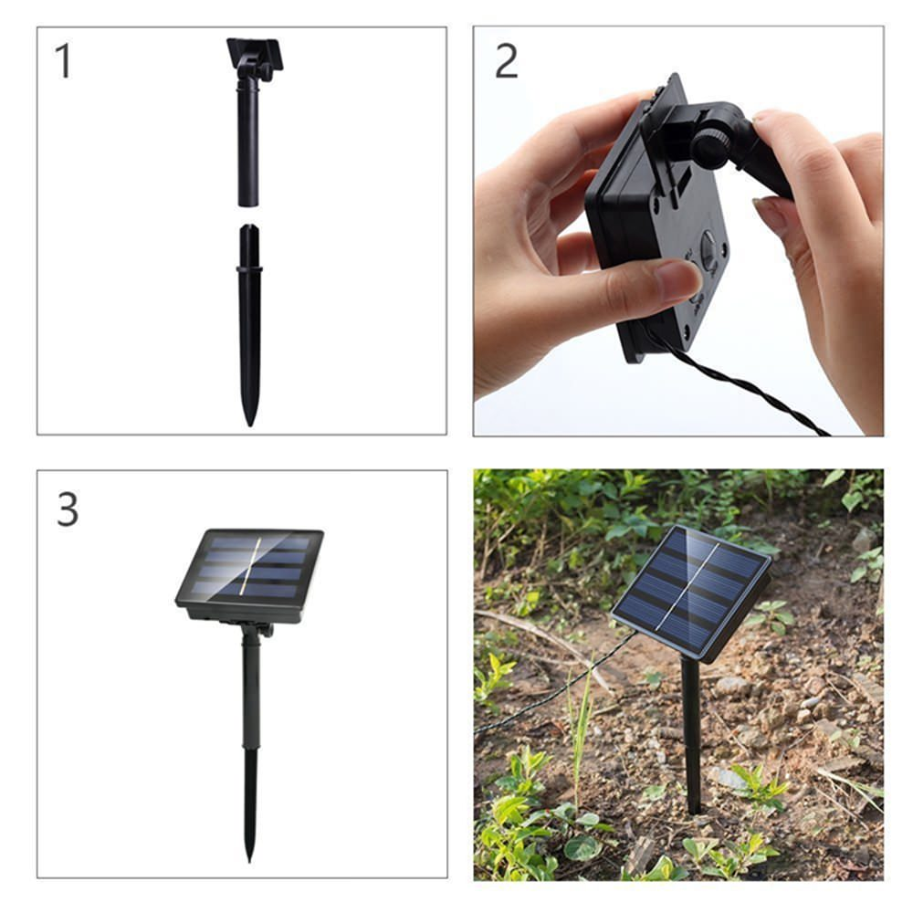 solar panel string light price
