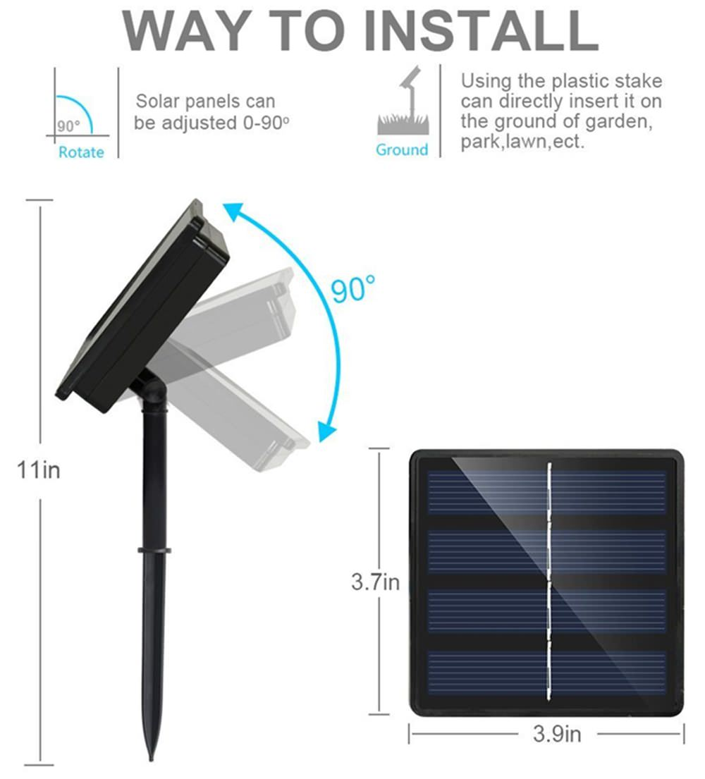 solar panel string light online