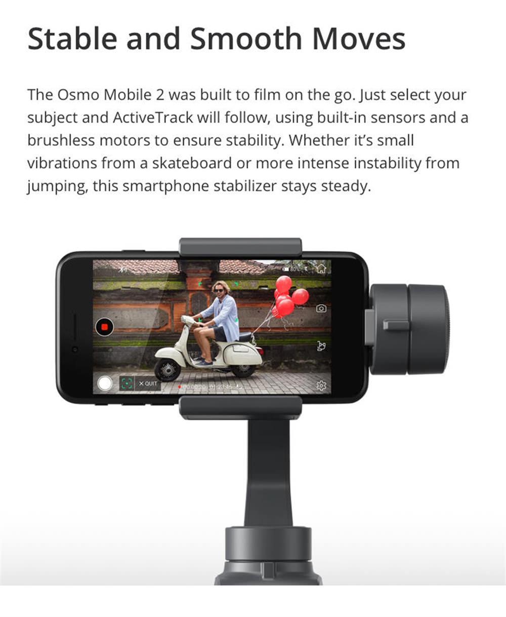 dji osmo mobile 2 gimbal stabilizer sale