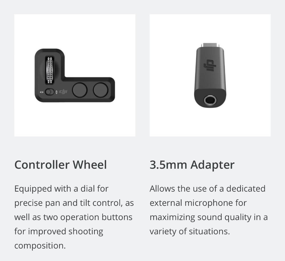 dji osmo pocket 3-axis gimbal camera
