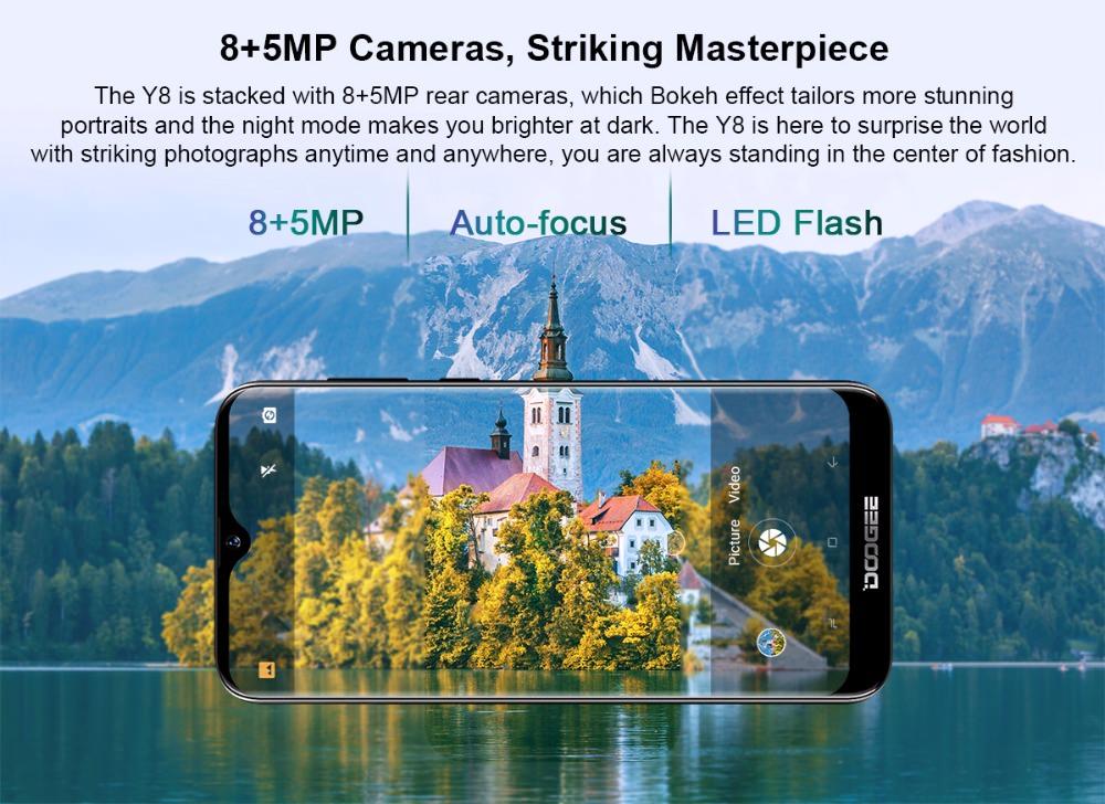 doogee y8 smartphone price