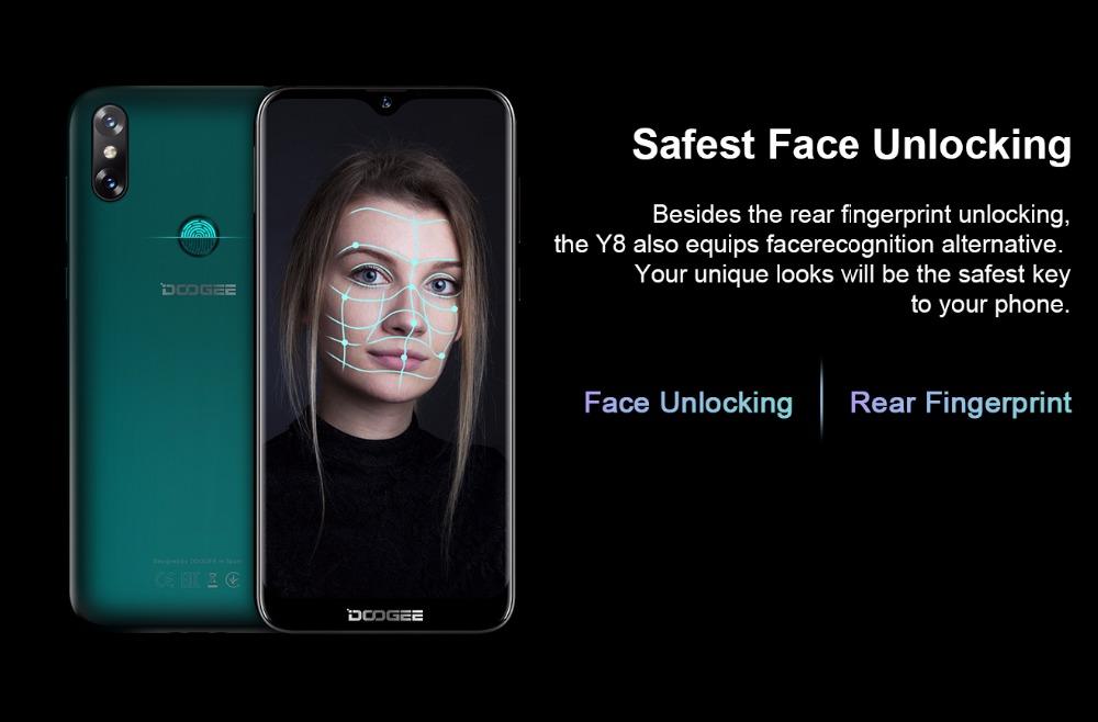 new doogee y8 4g smartphone