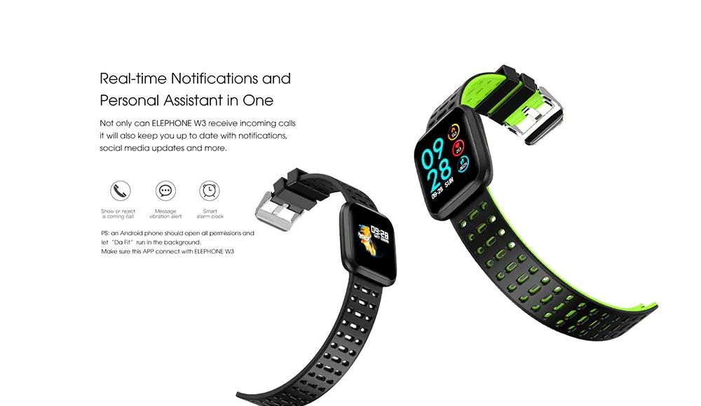 buy elephone w3 smart bracelet