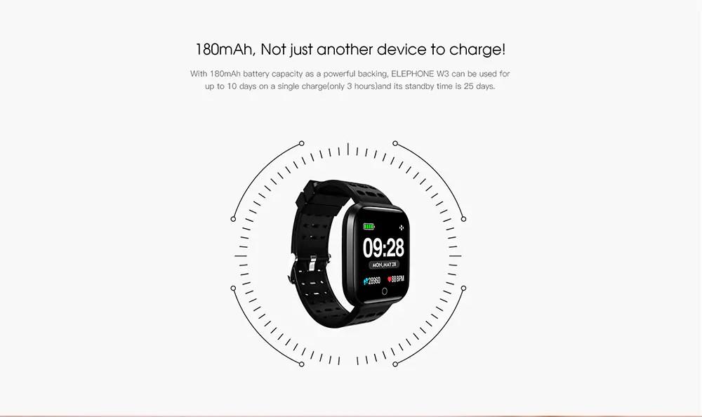 elephone w3 sport watch