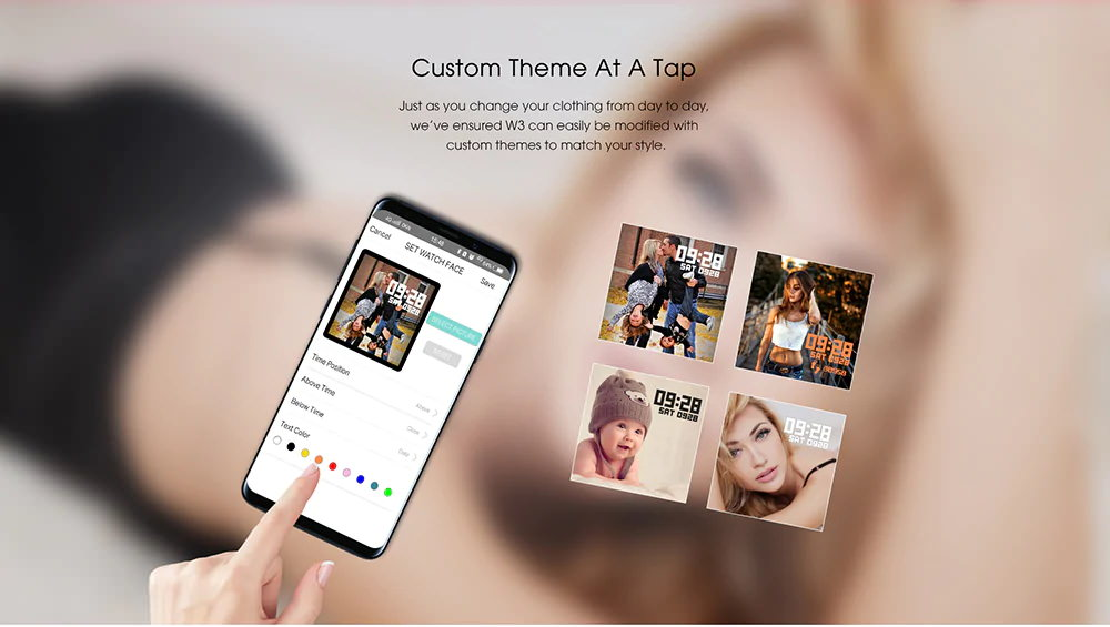buy elephone w3 smartband