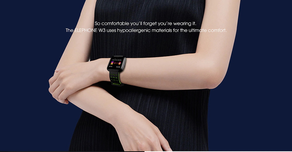 buy elephone w3 smartwatch