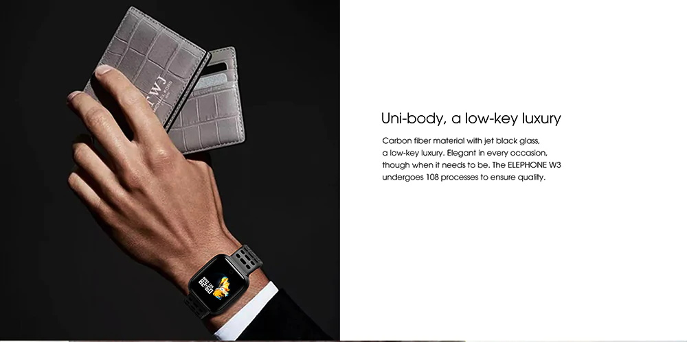 elephone w3 smart wristband