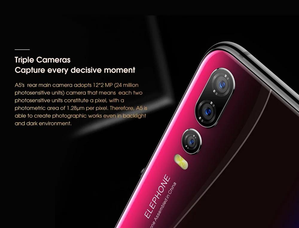 buy elephone a5 smartphone