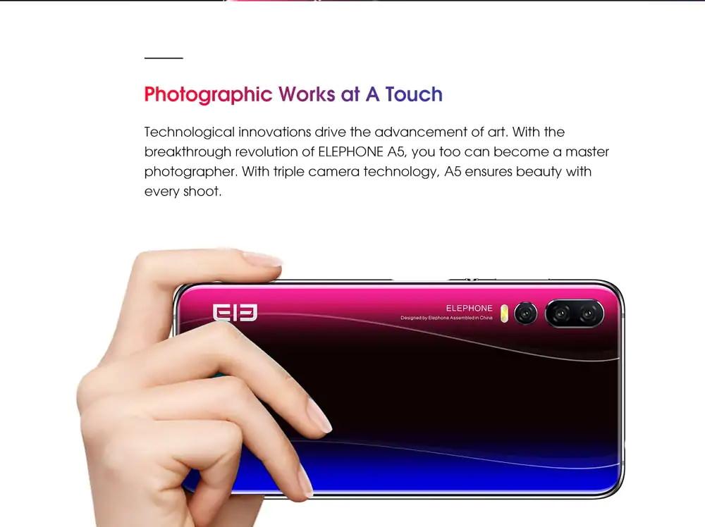 elephone a5 smartphone price