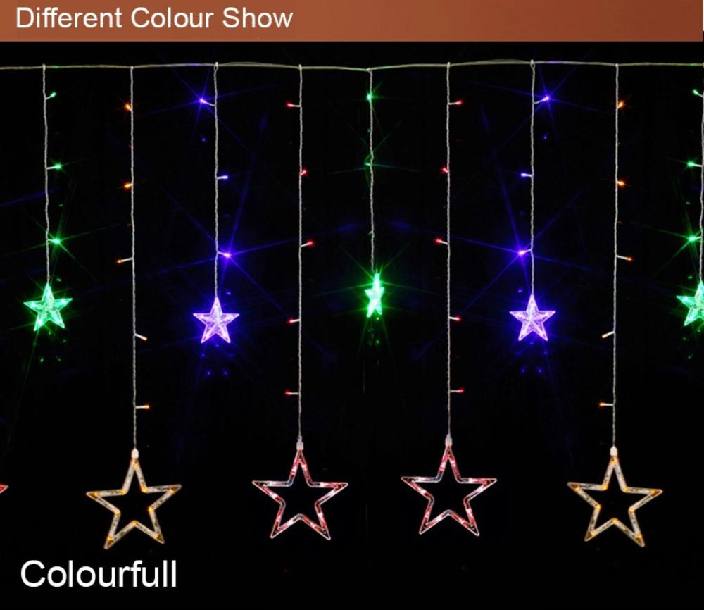 star shaped led string lights online