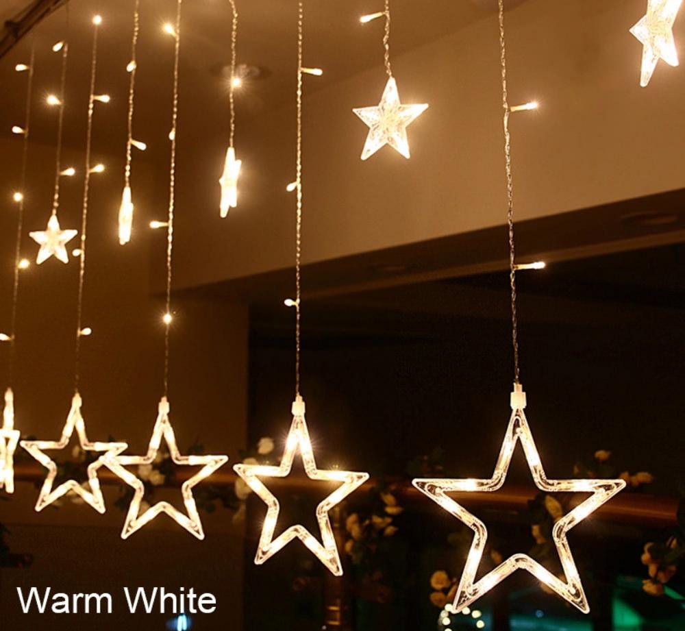 buy star shaped led string lights