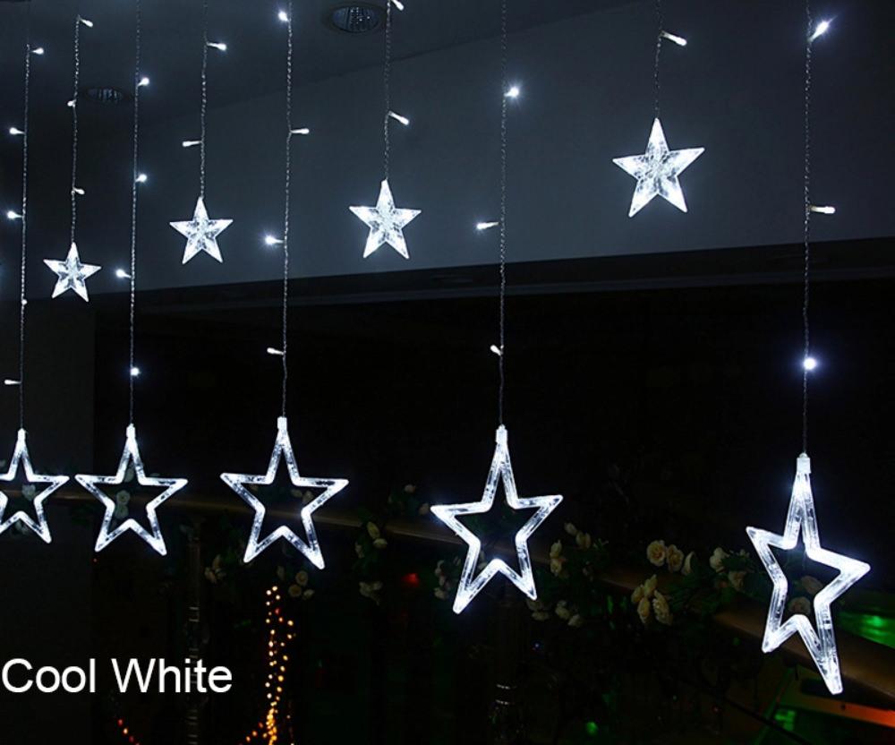 best star shaped led string lights