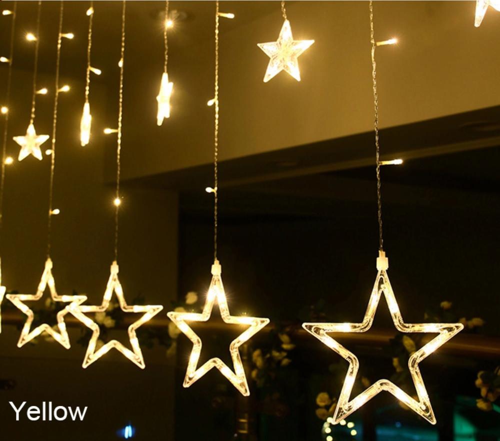 star shaped led string lights sale
