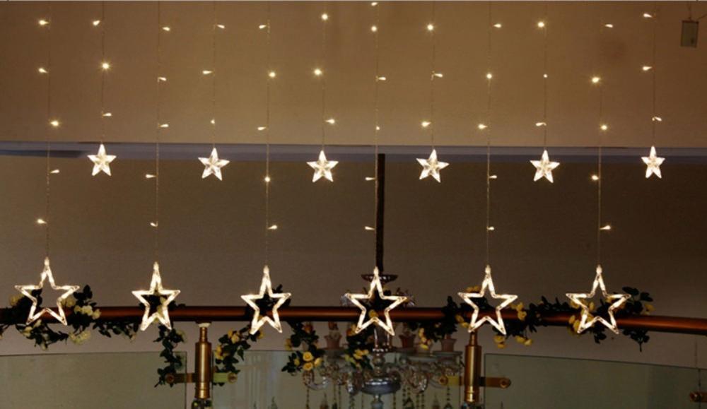 star shaped led string lights price
