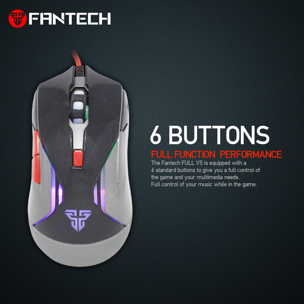 fantech v5 wired mouse