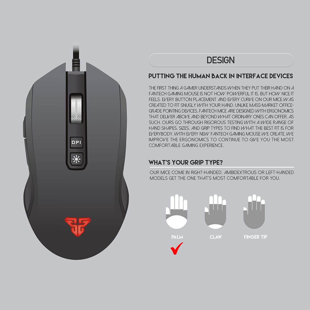 buy fantech x5s mouse