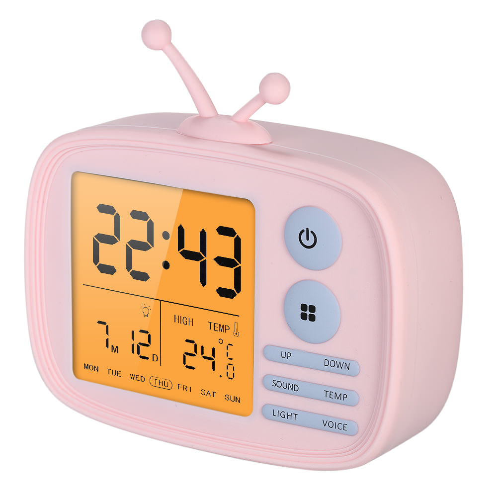 lja-001 tv alarm clock