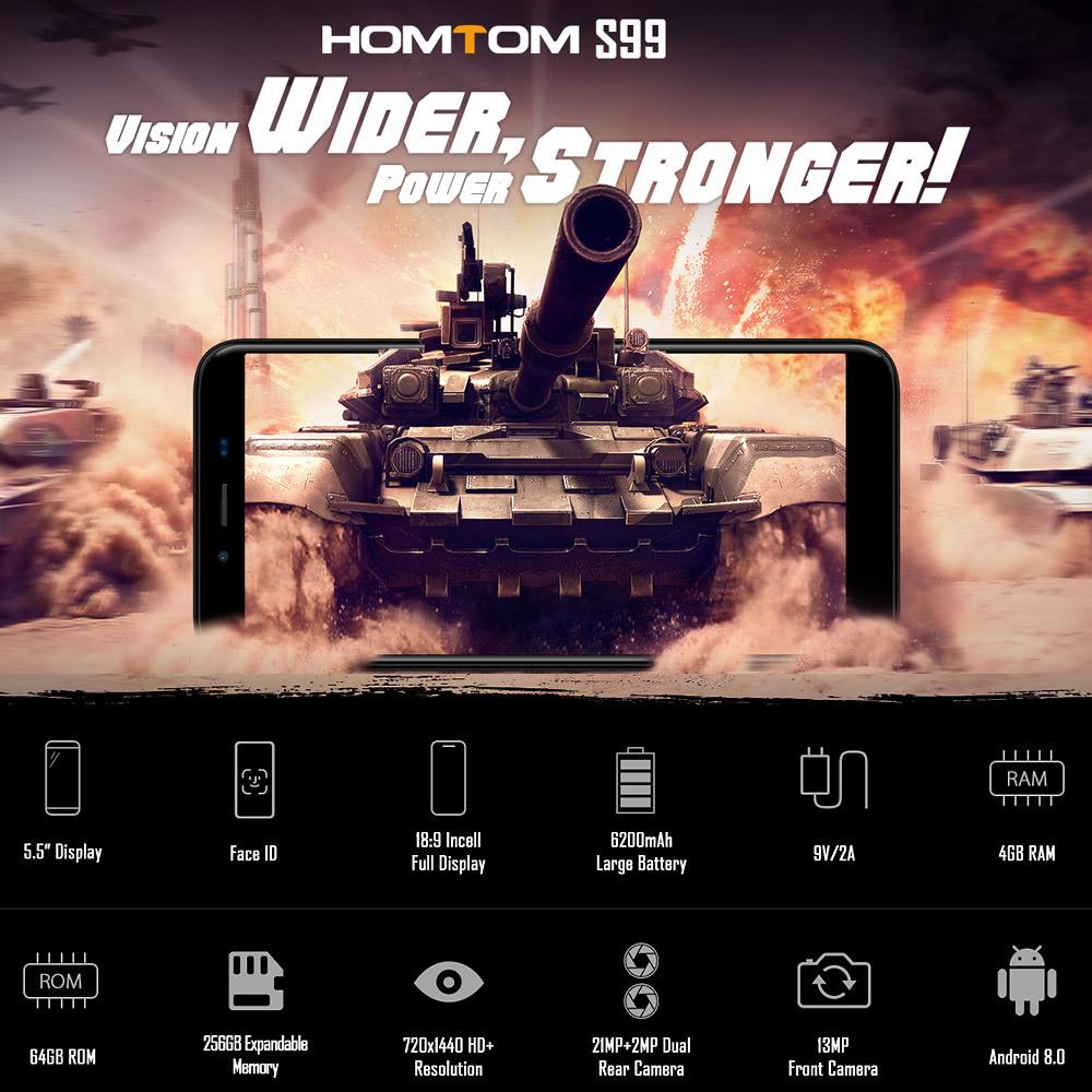 homtom s99 smartphone