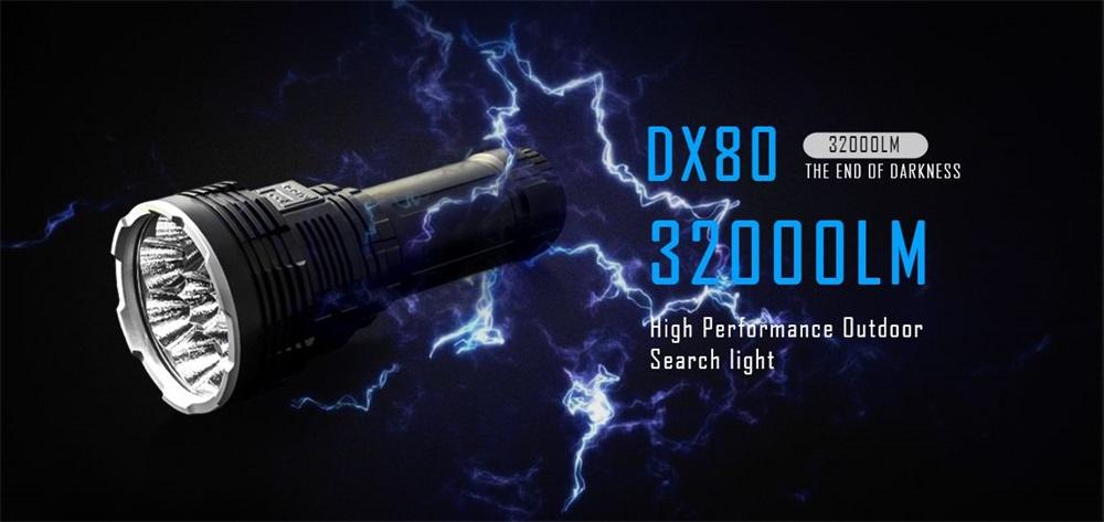 imalent dx80 flashlight