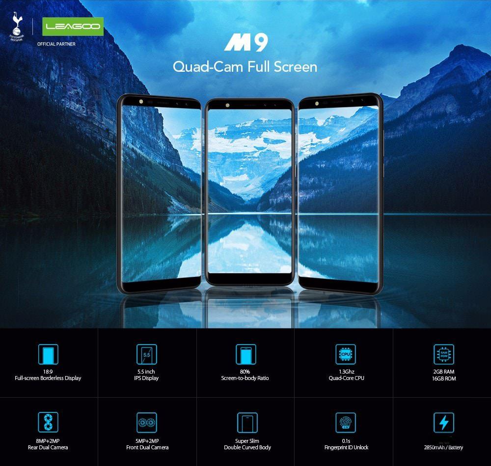 leagoo m9 smartphone