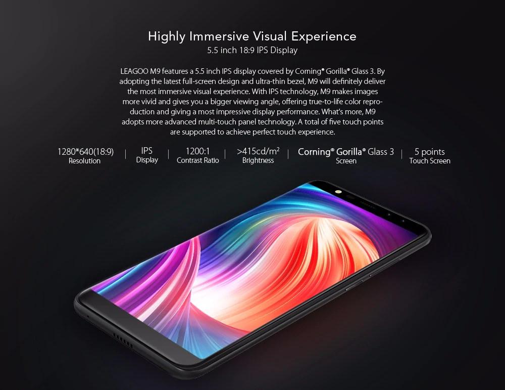 buy leagoo m9 smartphone