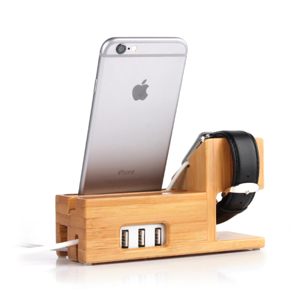 buy lemfo wooden charge dock station