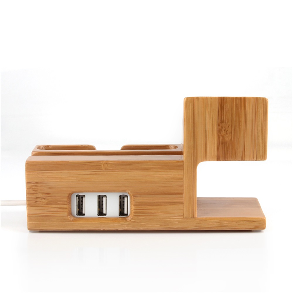 lemfo wooden charging stand