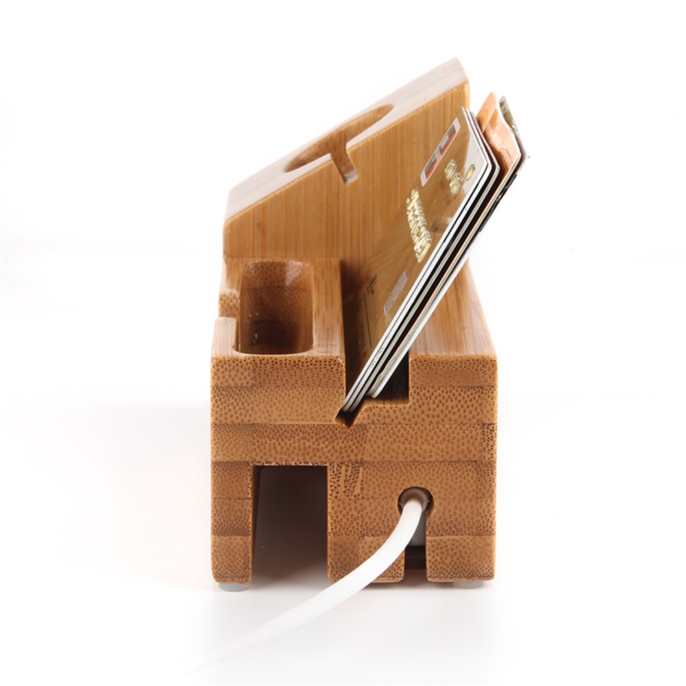 buy lemfo wooden charging stand