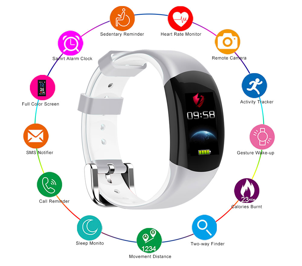 buy lemfo lt02 smart bracelet