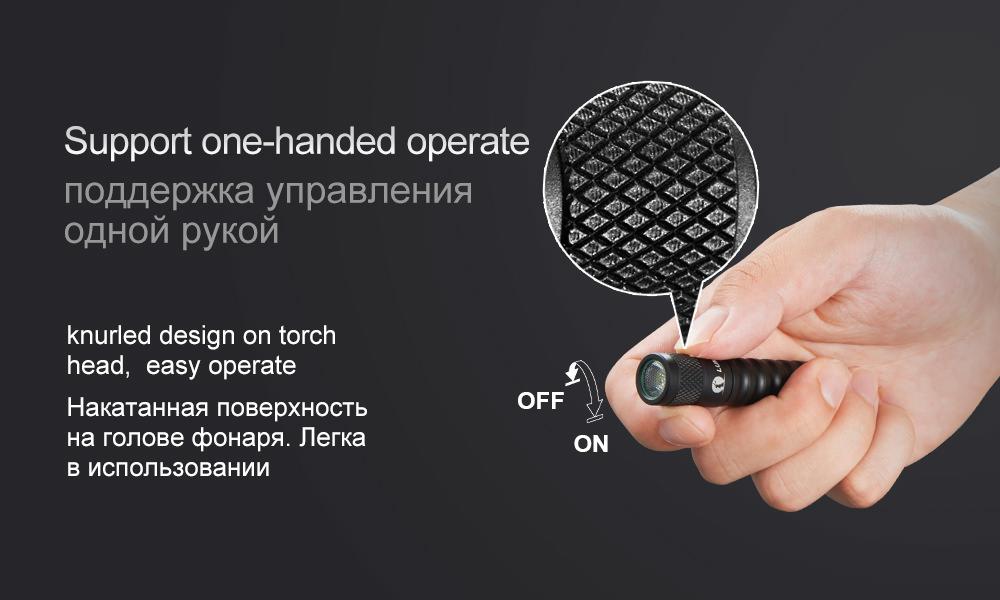 cheap lumintop edc01 flashlight