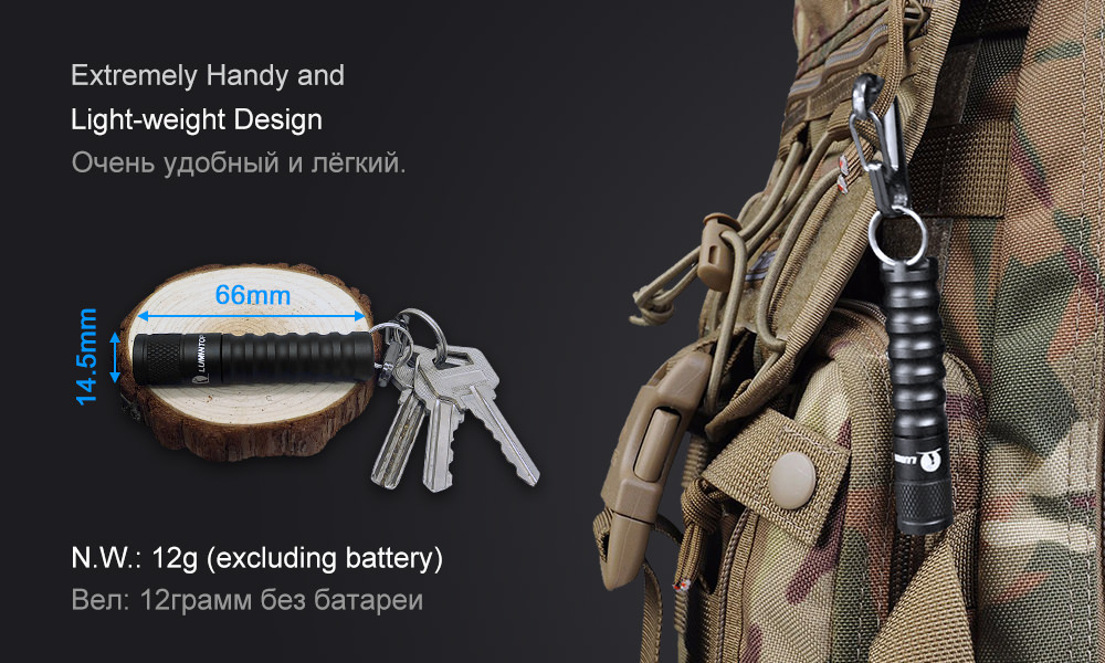 lumintop edc01 mini flashlight