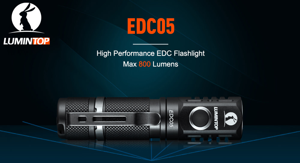 lumintop edc05 flashlight